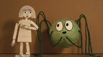 Papergee and the Spider, Douglas Irvine , GB 2019
